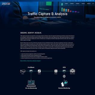 Traffic Capture & Analysis - Profitap Solutions