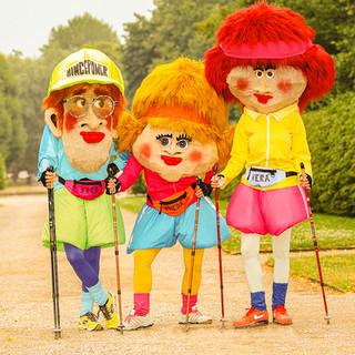 Frieda, Vera und Fred