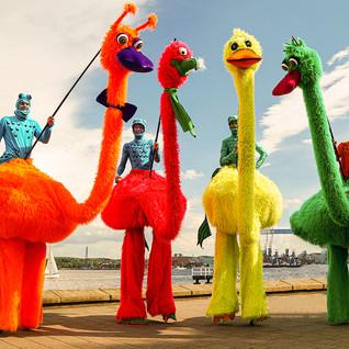 Die Riesenvögel
