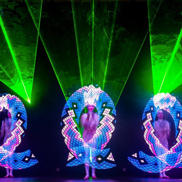 Licht- & Lasershow Spice