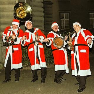 Die musikalischen Weihnachtsmänner