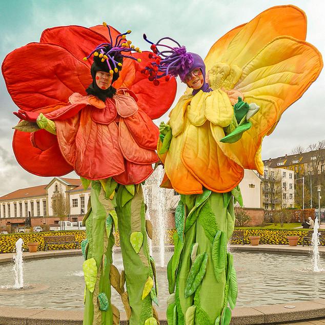 Riesenblumen