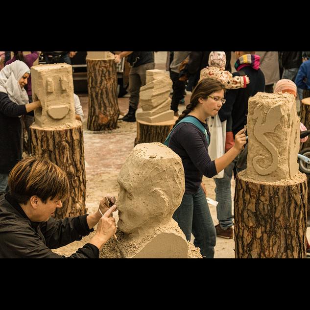 Sandskulpturenworkshop