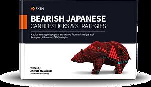 bearish Japanies candel sticks