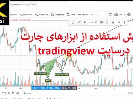 بخش سوم اموزش ابزارهای کنارچارت در سایت trading view