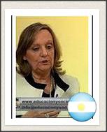 Teacher Doctora Alicia Elena Risueño –Member Effective- Embassador Honorary of Argentina