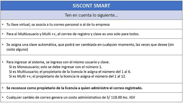 Comparativo Siscont
