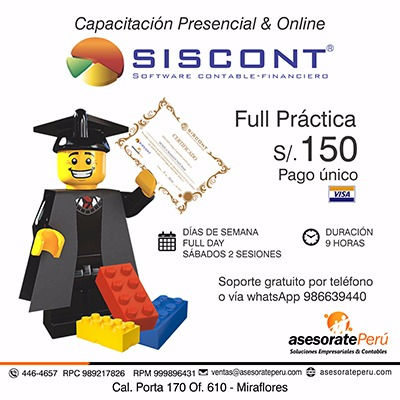 Capacitaciones Siscont