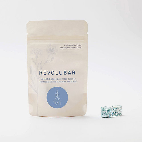 REVOLUBAR Glass cleaner - 2 soluble tablets