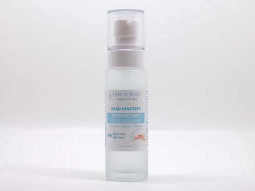 Gel désinfectant + hydratant pour les mains - 60 ml