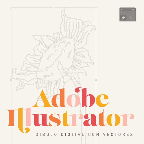 Clases de Dibujo Digital - Adobe Illustrator - (1 mes)