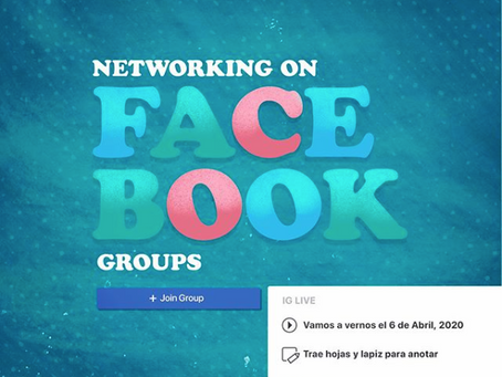 Facebook Groups para creativos