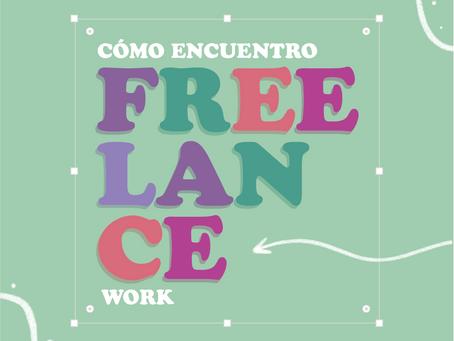 Cómo encuentro freelance work?