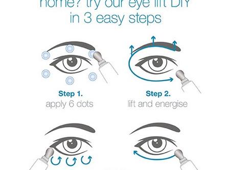 Diminish dark circles while you sleep
