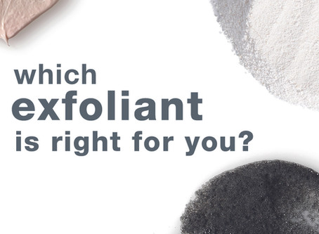 What's the perfect exfoliant for your skin?
