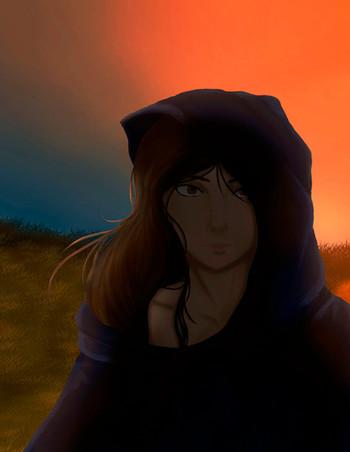 Lady at Dawn