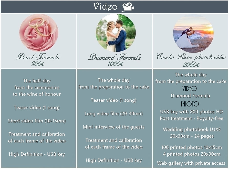 z-tarifs mariage video 2019-2020 - tradu