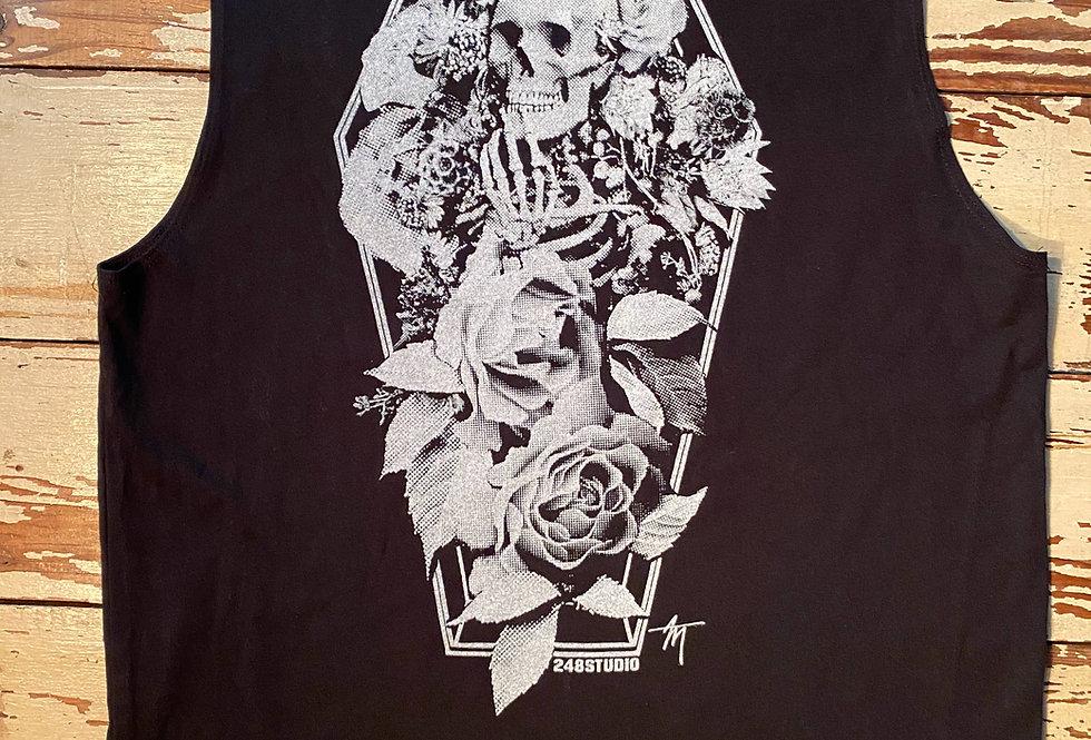 Dearly Beloved skeleton unisex Muscle Tee