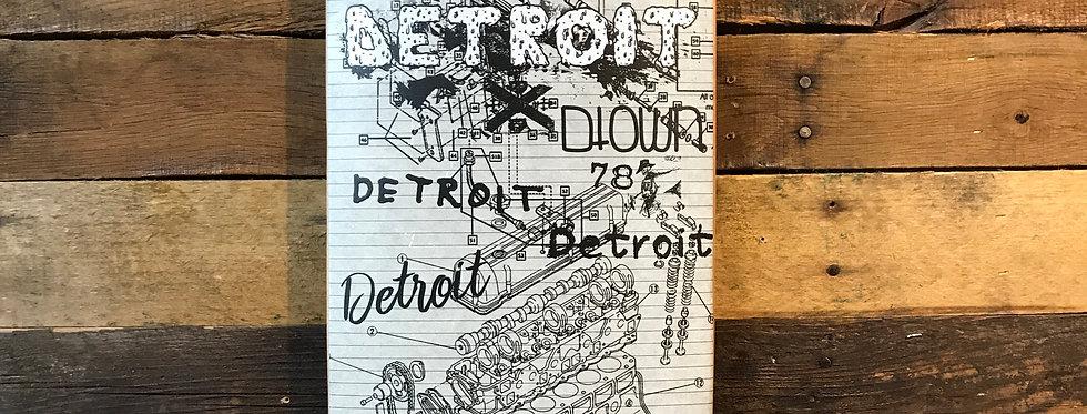 """Engine Detroit"" Limited Edition Artdeck"