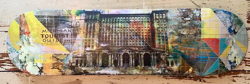 Michigan Central Station (train station Deck)
