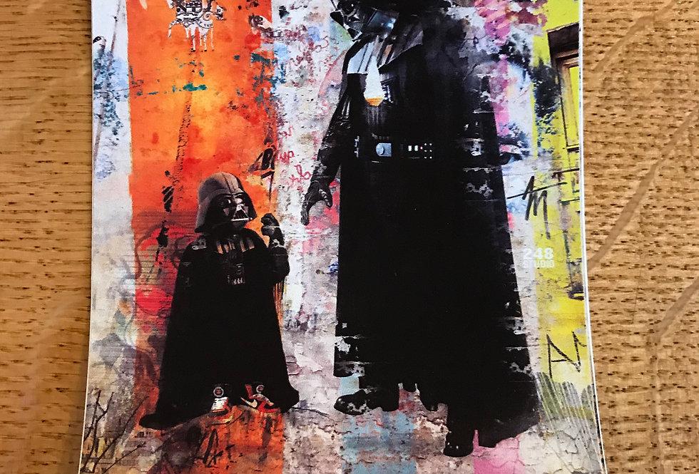 Vader Jr. Sticker