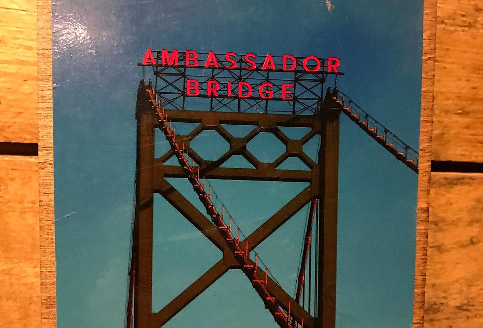 """Ambassador"" wood-paneled canvas"