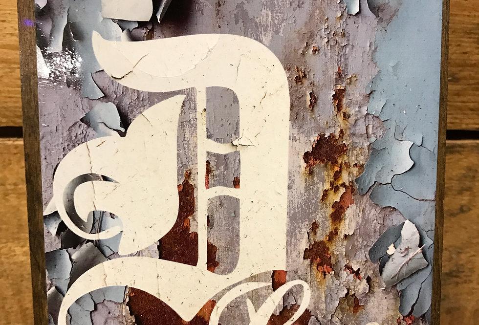 """""""Peel"""" wood-paneled canvas"""