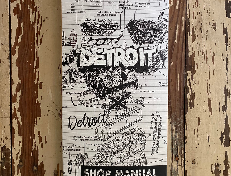 Detroit Motor City Deck 19