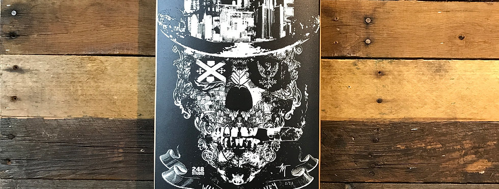 """Will Art for Money"" Limited Edition Artdeck"