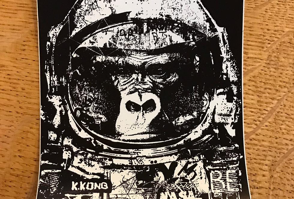 K. Kong Sticker