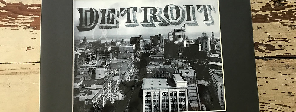 """Black and White Detroit"""