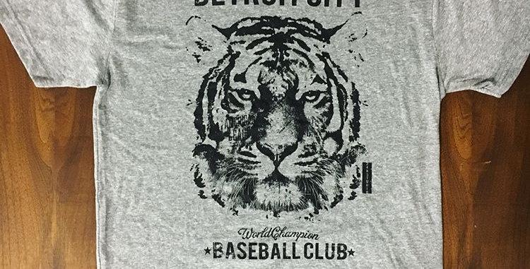 """Detroit City Baseball Club"" Tee"