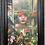 "Thumbnail: ""Greenhouse Girl"" Vintage frame"