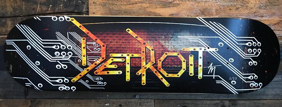 """Industrial Detroit"" Limited Edition Artdeck"