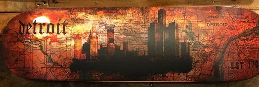 Skyline Detroit EST 1701