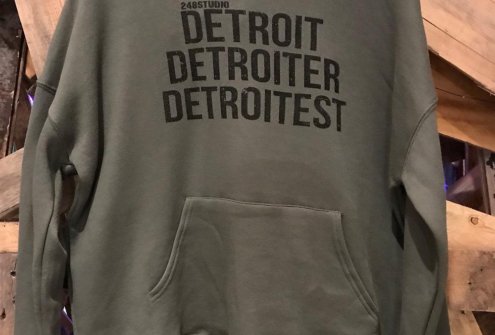 Detroit, Detroiter, Detroitest Hoodie