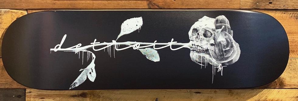 """""""Detroit Rose Skull"""" Deck"""