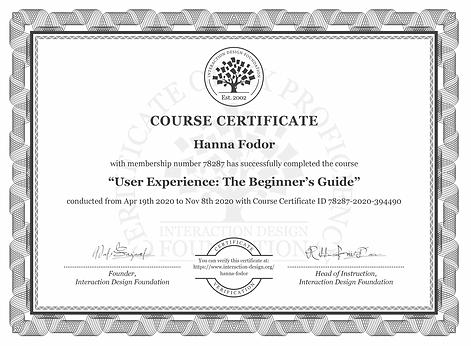 IDF Course Credential