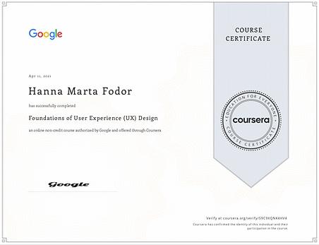 Coursera Credential