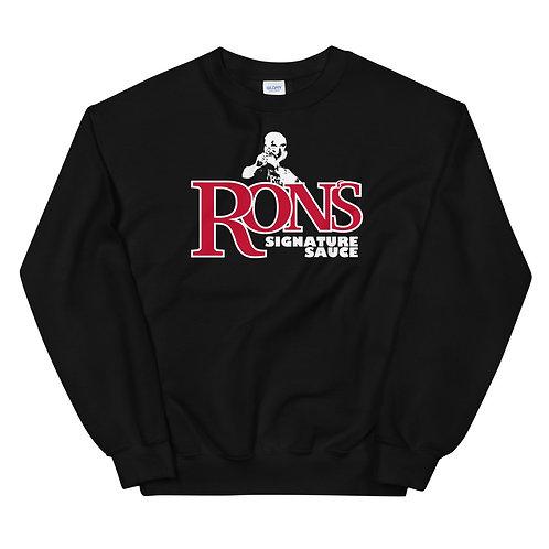 Ron's Signature Sauce Black Crew Neck