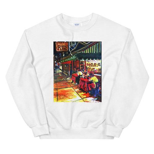 Ron's Ribs Mural Unisex Sweatshirt