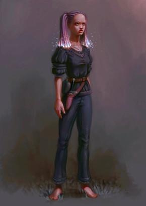 Character design Nora