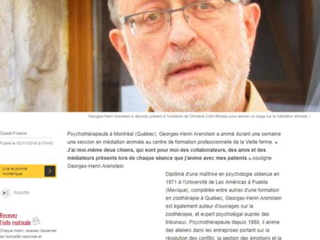 Une formation par un psychologue québecois - Ouest-France