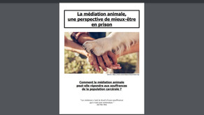 Soutenances mémoires session 202 2021 Médiation animale
