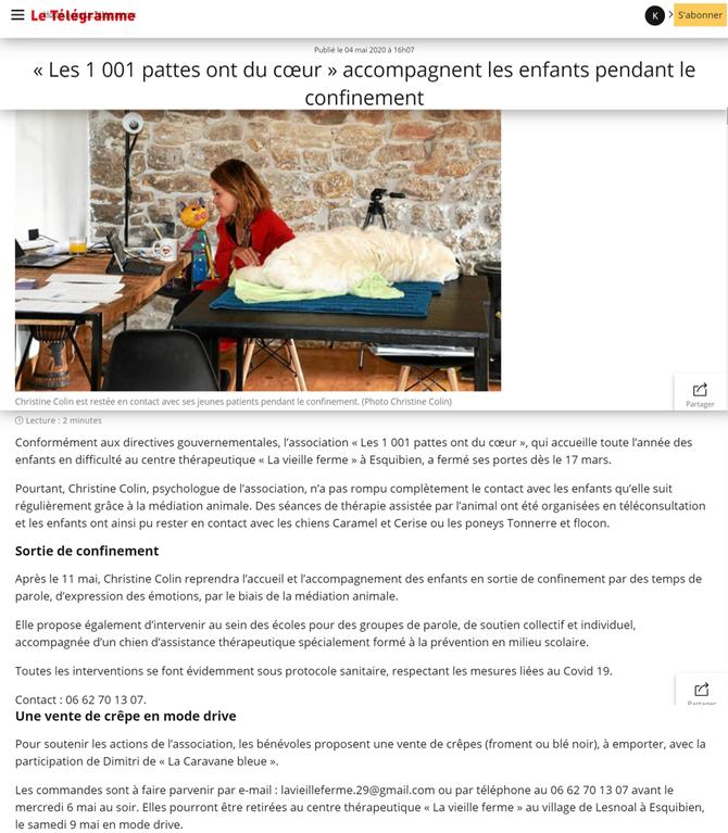 COVID 19 - Télé consultation, ça continue!