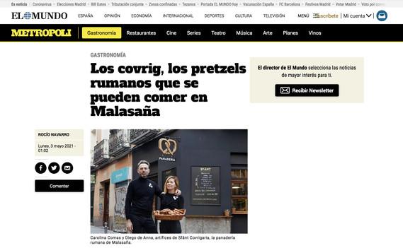 Diario El Mundo, Metropolis