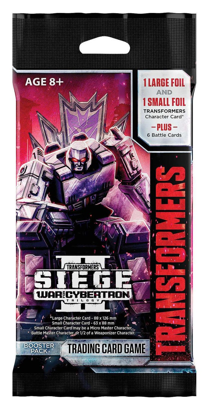 Transformers TCG - Siege II Booster