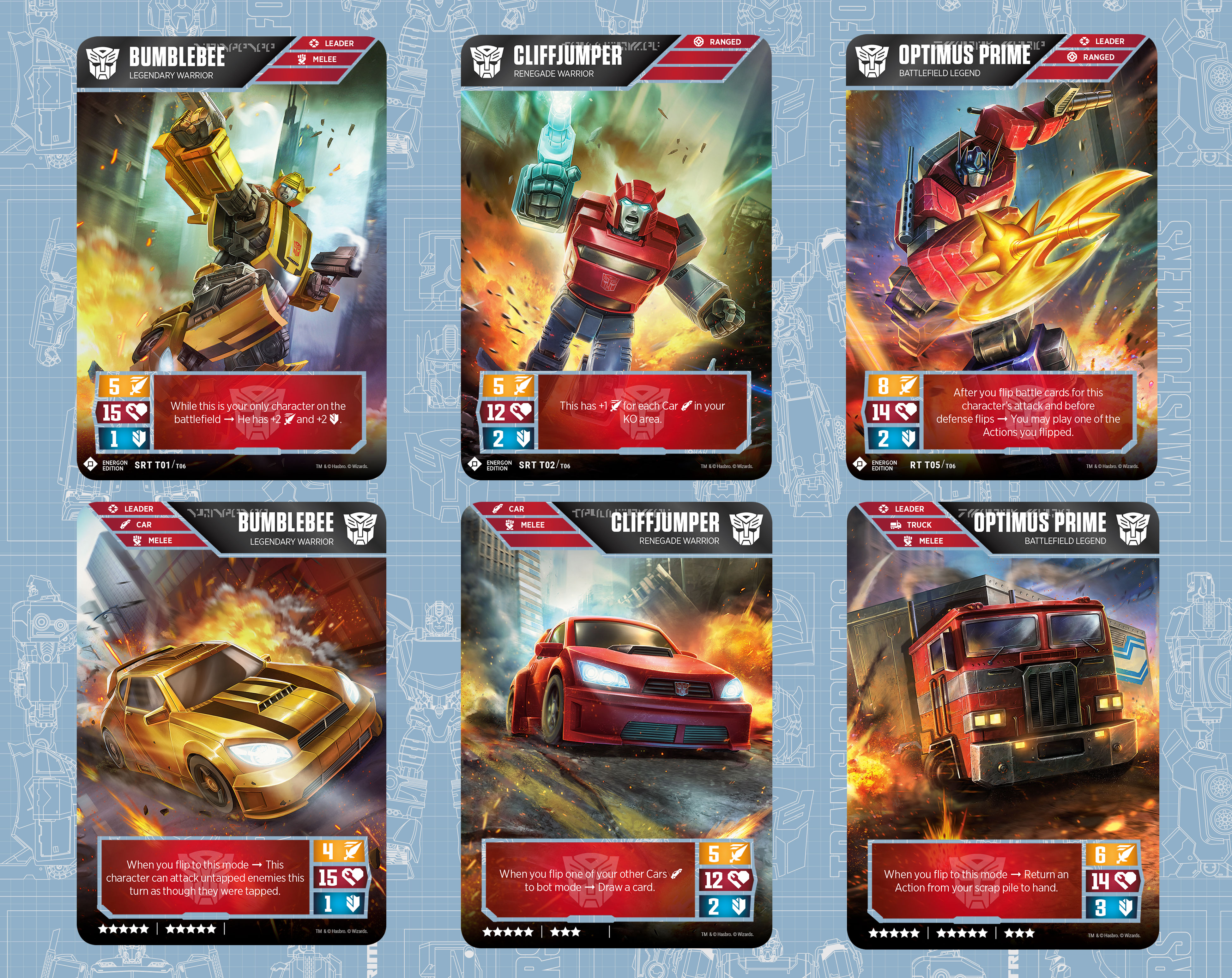 Transformers TCG - EE Autobots