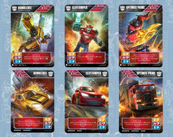 Transformers TCG - EE Autobots