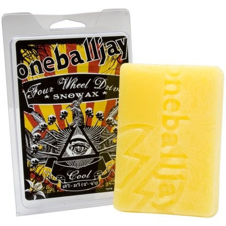 OBJ 4WD Wax & packaging